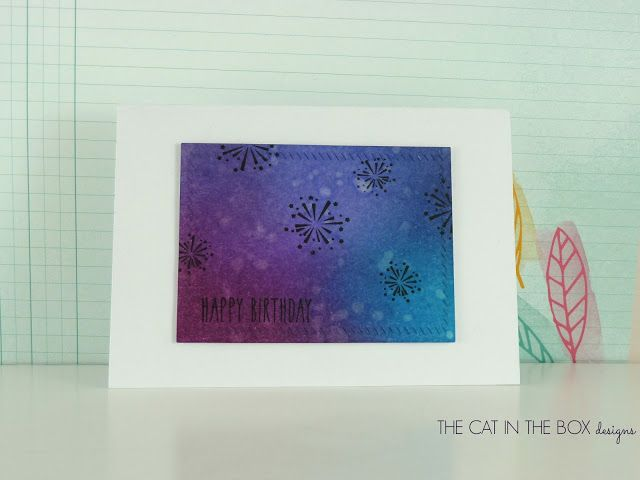 Simple Fireworks new clean and simple beauty over on my blog #mamaelephant, #thecatintheboxdesigns