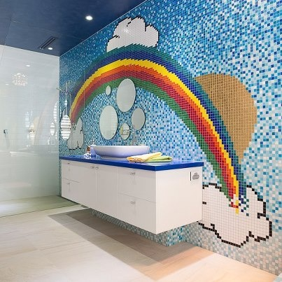 156 best images about bisazza glass mosaics on pinterest for Bisazza bathroom ideas