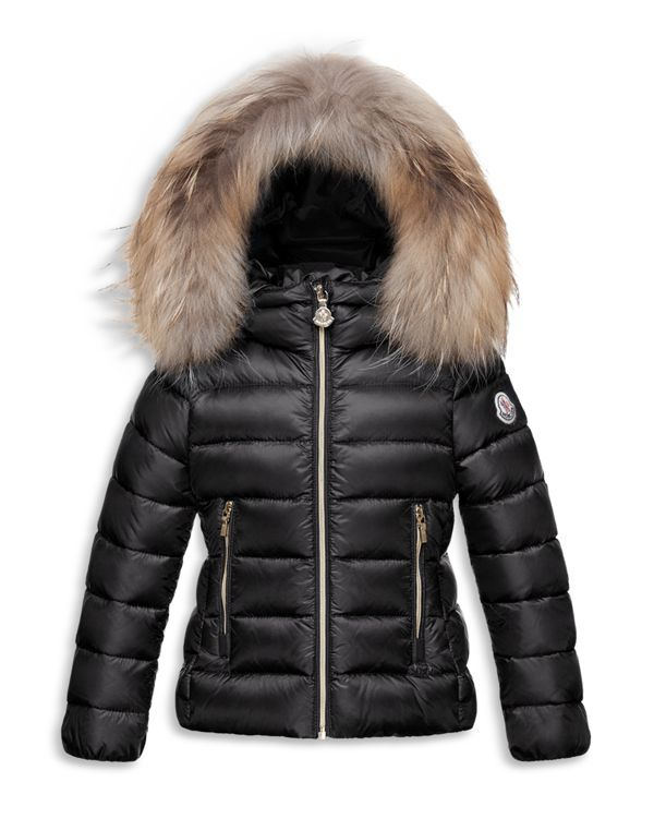 Moncler Girls' Solaire Puffer Coat - Sizes 8-14