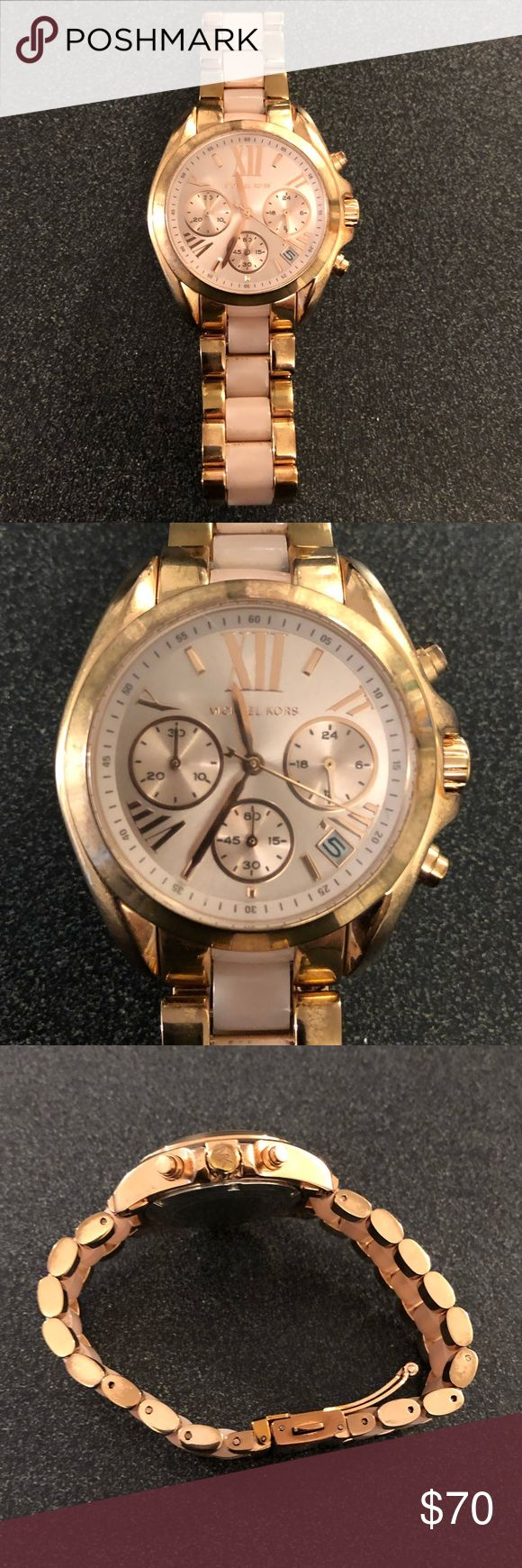 Michael Kors Bradshaw Rose Gold Tone Watch🎀 Michael kors