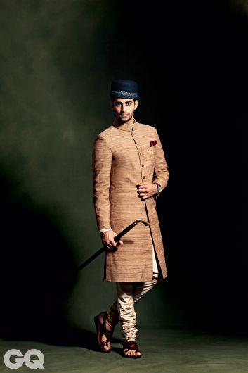 7 ways to wear a sherwani