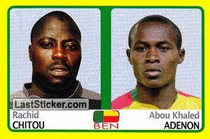 Rachid Chitou/Abou Khaled Adenon (Benin)
