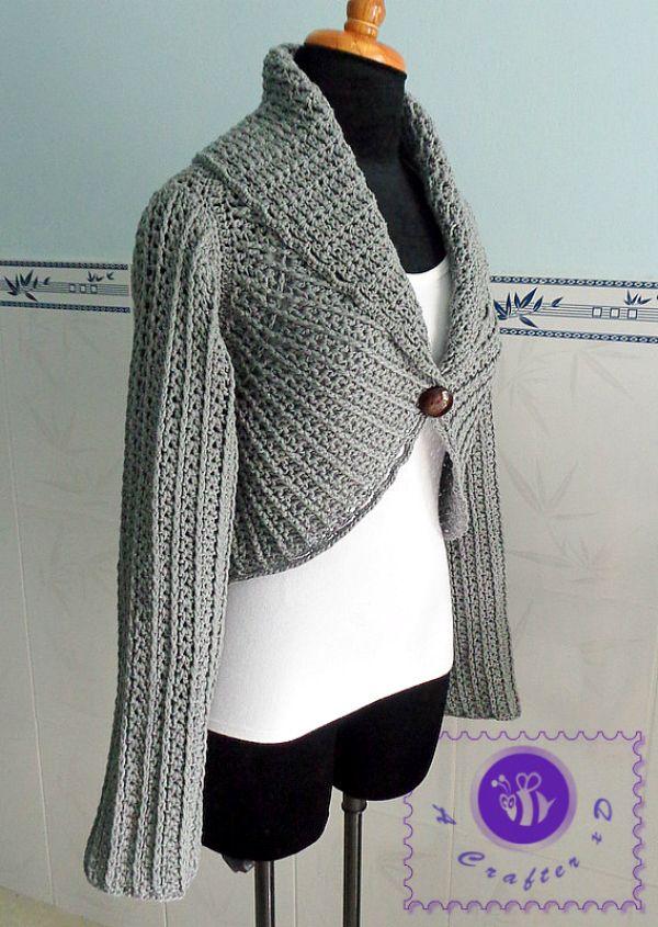 198 best Crochet - Cardigans images on Pinterest   Crochet clothes ...