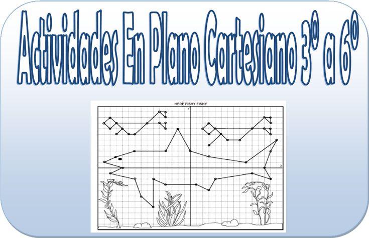 Figuras en plano cartesiano para 3° a 6° de primaria - http://materialeducativo.org/figuras-en-plano-cartesiano-para-3-a-6-de-primaria/