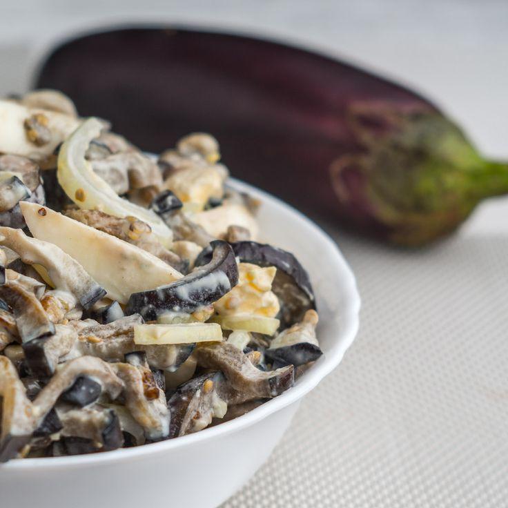 Салат из баклажанов со вкусом грибочков - вкуснятина неописуемая пошаговый рецепт с фотографиями