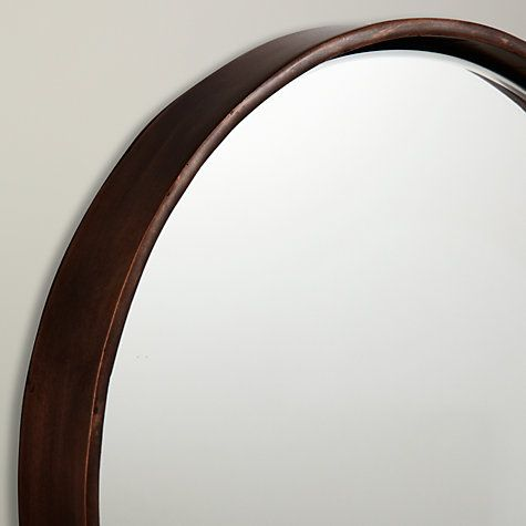 Buy John Lewis Metal Round Mirror, Dia.26cm Online at johnlewis.com