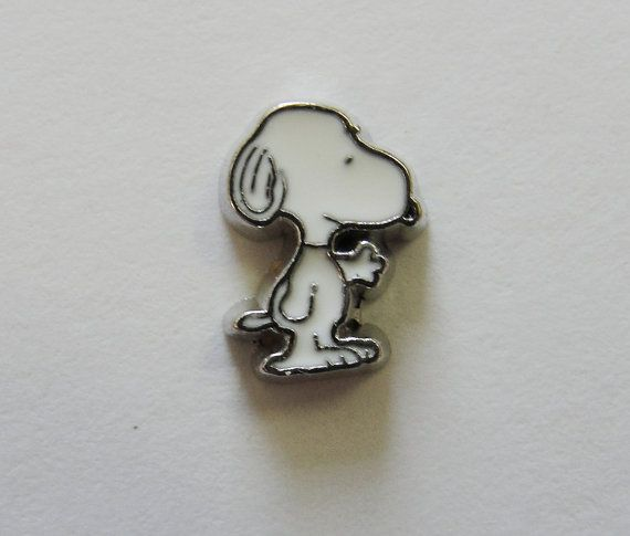 Floating Locket Charms Snoopy character fits Origami by SSCStore