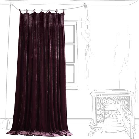 1000 id es sur le th me rideaux de soie sur pinterest soie rose rideaux roses et rideaux. Black Bedroom Furniture Sets. Home Design Ideas