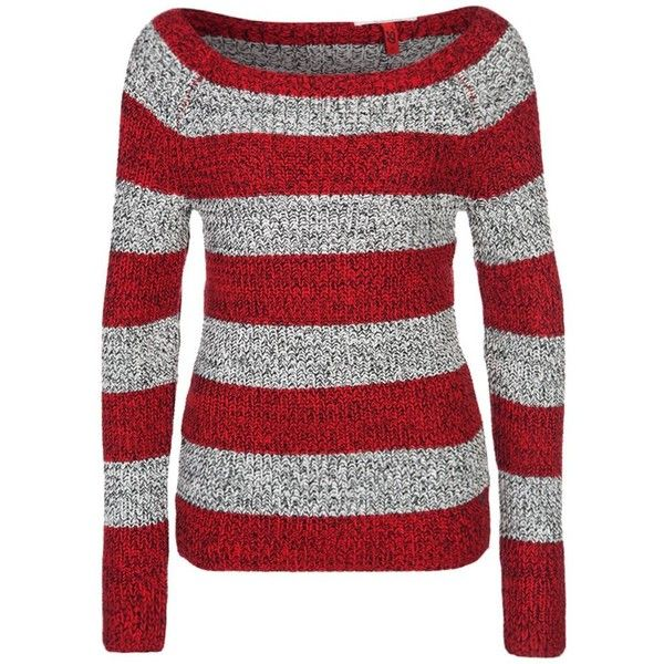 QS by s.Oliver Jumper red found on Polyvore