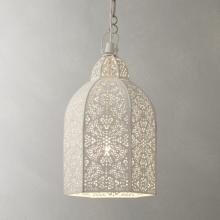 Moroccan ceiling light at John Lewis.