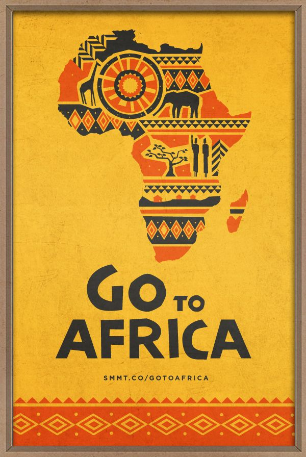 Go to Africa by Evan Travelstead, via Behance