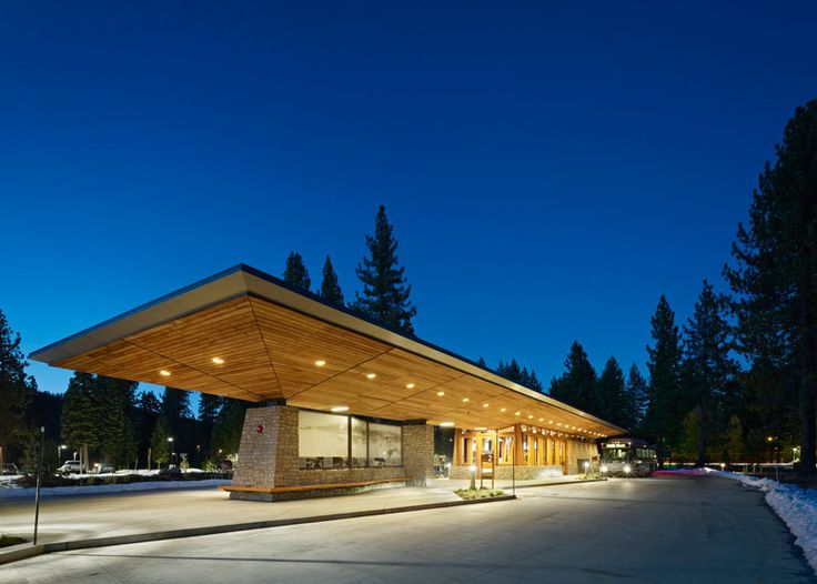 Tahoe City Transit Center in Tahoe City, California, by WRNS Studio