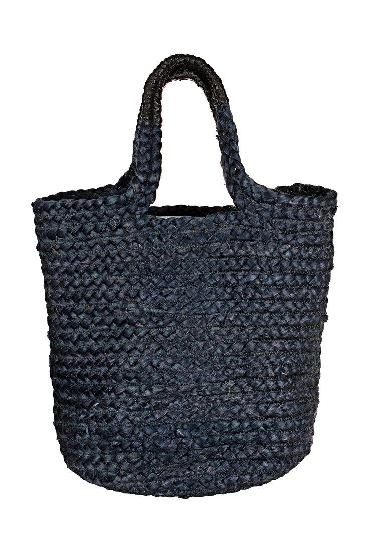 Beach bag - bogota as18 - Blue / Navy Leon & Harper on MonShowroom.com