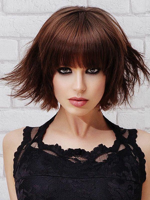 Tagli di capelli con Frangia: Foto look 2015 - Beautydea