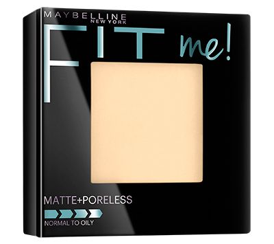 Maybelline New York Fit Me Matte + Poreless Powder. This stuff is amazing! I used to used Physician' s Formula but this is 100% better.