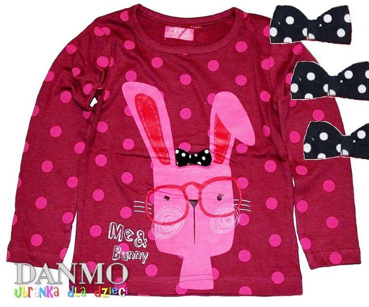 MINOTI Rabbit Bluzeczka z Króliczkiem Bluzka * 104 (5714047099) - Allegro.pl - Więcej niż aukcje.