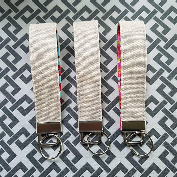 Hey, I found this really awesome Etsy listing at https://www.etsy.com/ca/listing/539539359/cotton-canvas-key-fob-pop-of-colour