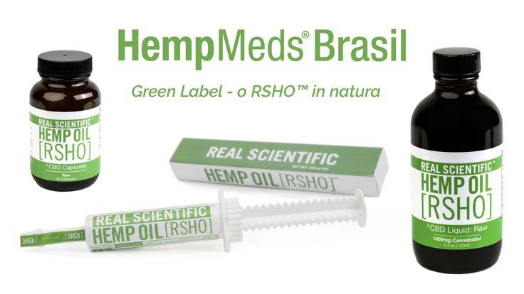 Lançado no Brasil o óleo virgem de cânhamo RSHO™ Green Label –  A HempMeds® Brasil tem o prazer de anunciar uma nova linha de produtos de óleo de CBD em sua loja online – o RSHO™ Green Label. Ele se diferencia do Blue e do Gold Label por ser embalado sem qualquer processamento logo que extraído da planta. Assim, o Green Label tem uma maior concentração de canabinóides acídicos, como o CBDa, encontrados naturalmente na planta de cânhamo...