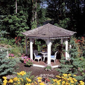 Die 25+ Besten Ideen Zu Holzpavillon Auf Pinterest ... Holz Pavillon Im Garten Bauarten