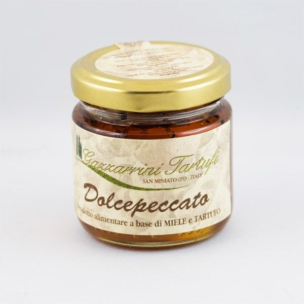 Truffle honey 120g www.manducanda.com