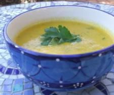 Carrot, Coconut and Coriander Soup