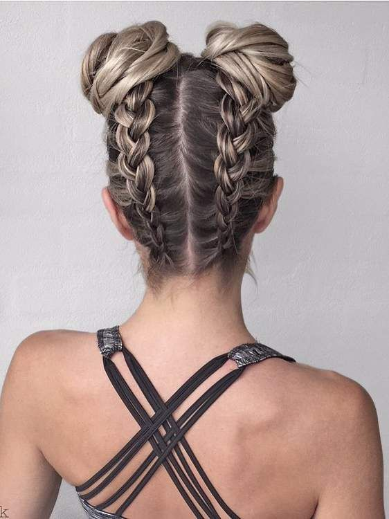 7 Braided Hairstyles That People Are Loving on Pinterest | Braids for short hair, Pretty braided hairstyles, Cute hairstyles for medium hair