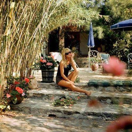 Brigitte Bardot, La Madrague. @S. C. Studio NYC #saltstudionyc #saltstudioslc