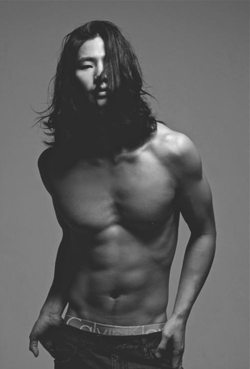 Point of photo: Calvin Klein    SAID NO ONE EVER.    Song Jae Rim~ My jaw is on the floor...