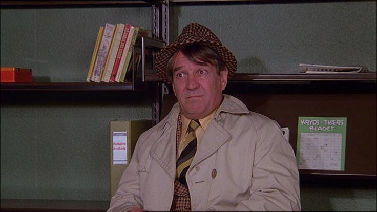 som kriminalassistent Jensen i Olsen banden filmene fra 1973-98