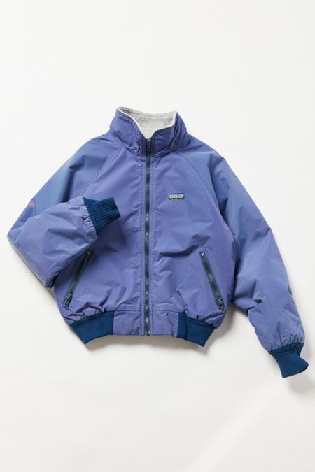 b73ad8be33c45 Vintage Patagonia Grape Fleece-Lined Bomber Jacket   Clothes and ...