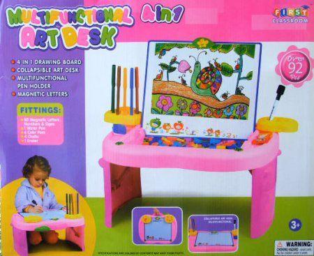 #GAMBAR #MEJA #MAGNET Art Desk Pink PAIA14 - http://jualmainanbagus.com/boys-toy/art-desk-pink-paia14