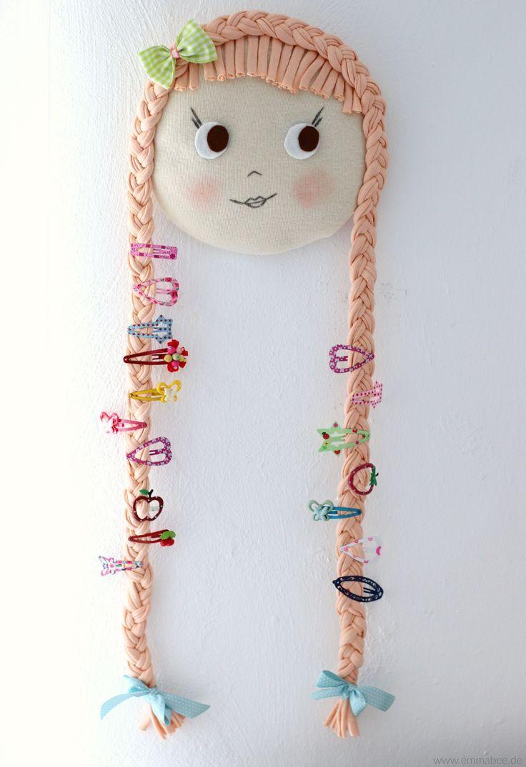 {Frühjahrsputz} Ein charmantes Haarspangen-Utensil für mehr Ordnung im Bad   – Kinderzimmer Ideen – Inspirationen