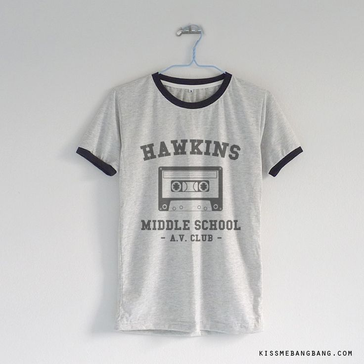 Hawkin Middle School AV Club Stranger Things T-shirt ; Eleven ; Will ; Dustin ; Lucas ; Mike ; Max #strangerthings #strangerthings2