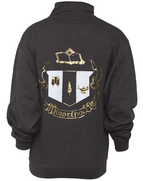 Delta Zeta crest halfzip. Never got it as a collegiate so I guess it's time for an alumna one!