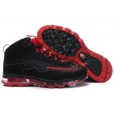Nike ken griffey jr mens air max black/red new shoes