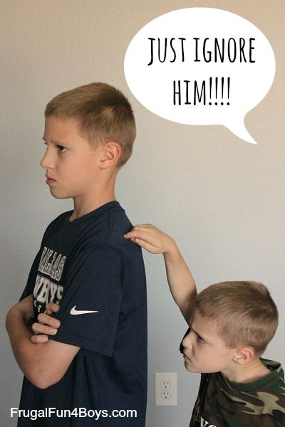 "Strategies for handling sibling fighting that are better (not easier, but better) than ""just ignore it.""  {From a Christian perspective}"