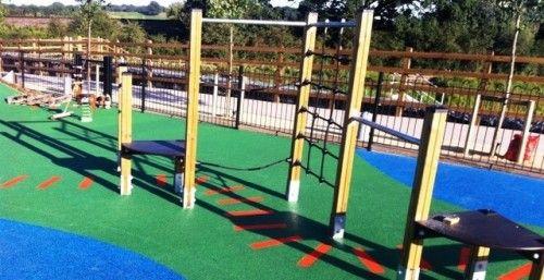 Outdoor Play Area Flooring in East Dunbartonshire #Outdoor #Play...