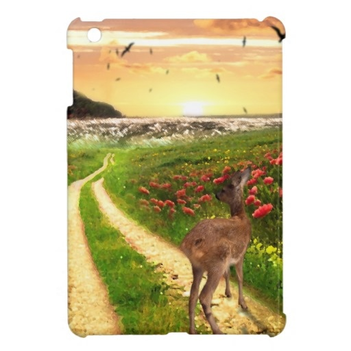meadow design iPad mini cases  All products with this design you can find here: http://www.zazzle.com/ann_geldesign/gifts?gp=105914692435017463