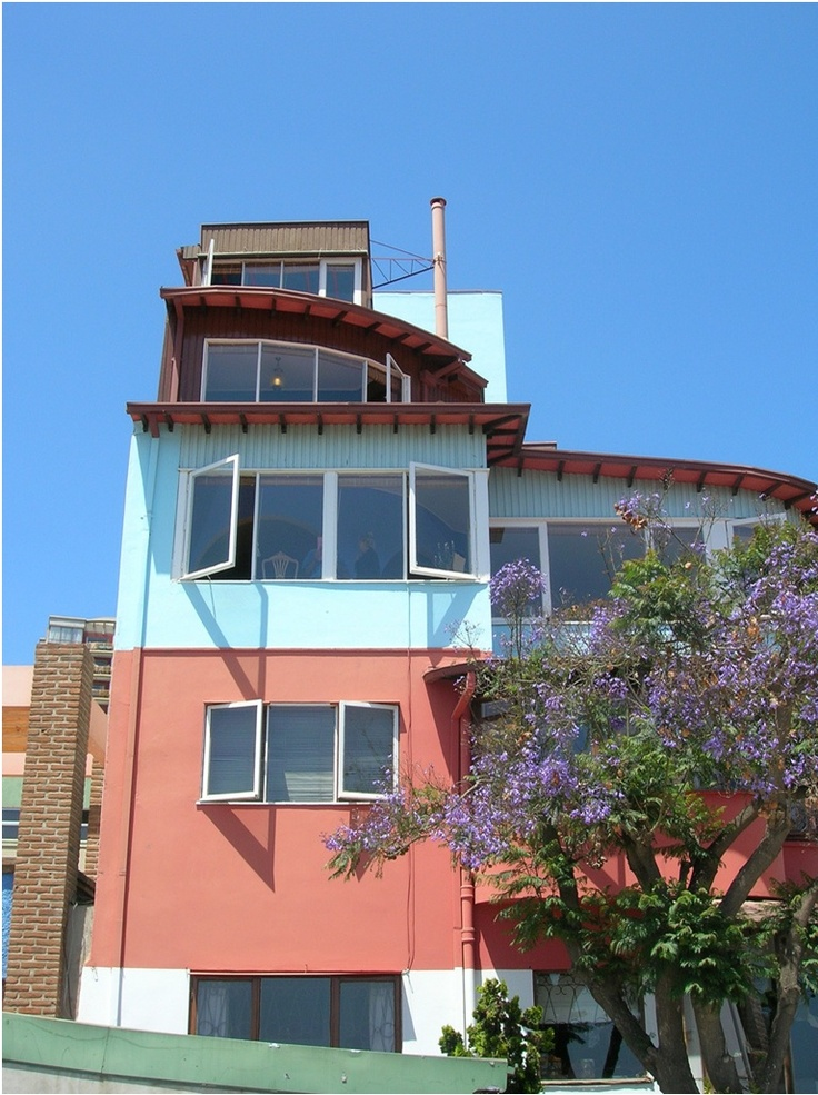 La Sebastiana - la casa di Pablo Neruda a Valparaiso in Cile