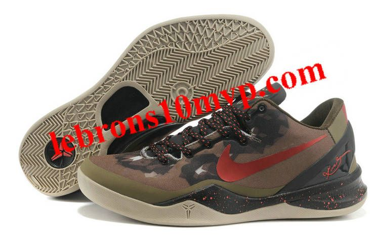 Kobe 8 System Squadron Green Challenge Red Legion Brown 555035 300