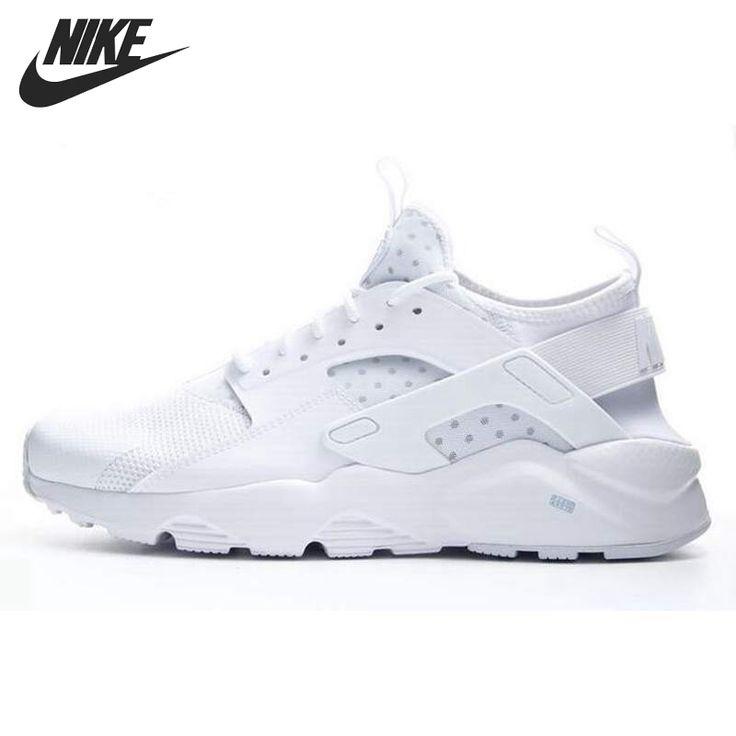 Asli baru kedatangan nike air huarache menjalankan ultra pria menjalankan sepatu sneakers