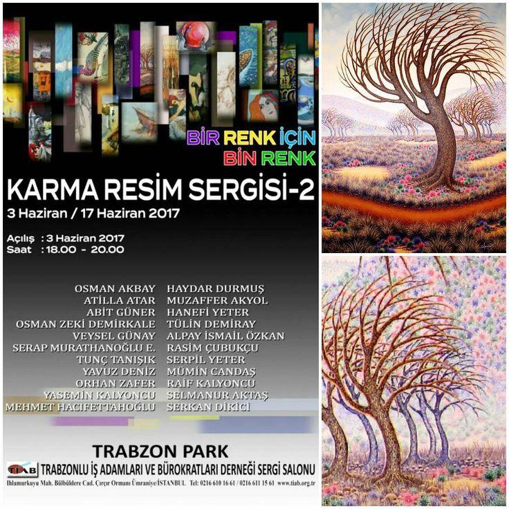 """İSTANBUL - TİAB #ArtExhibition Sergideki çalışmamdan detayla! Sergimiz var! Sanatseverleri bekliyoruz. """"Trabzon'un yetiştirdiği değerli Sanatçılar ile 'BİR RENK İÇİN BİN RENK' İKİNCİ KARMA RESİM SERGİSİ""""! Açılış :  03 Haziran 2017 Cumartesi  Saat : 18.00 / 20.00 #artwork #artist #artlovers #artlife #resim #yağlıboya #contemporary #sanat #ressam #instaart #painting #drawing #oilpainting #canvas #contemporaryart #artfollowers #sanattakibi #painter #instaartist #abstractart #illustration…"""