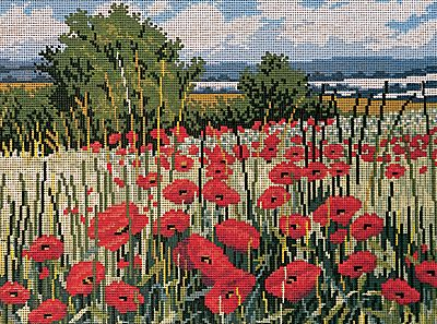Poppies in a Field Tapestry Kit By Twilleys of Stamford
