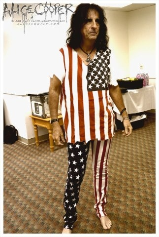 alice cooper representtt. I WANT TO BE ELECTED
