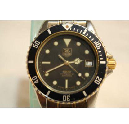 Men's Vintage Tag Heuer 1000 Professional 200 Meters Quartz Watch - http://menswomenswatches.com/mens-vintage-tag-heuer-1000-professional-200-meters-quartz-watch/ COMMENT.