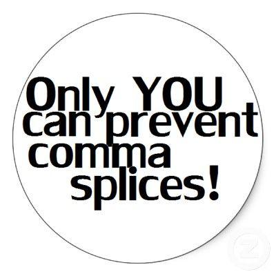 24 best images about Punctuation - Comma Splice on Pinterest ...