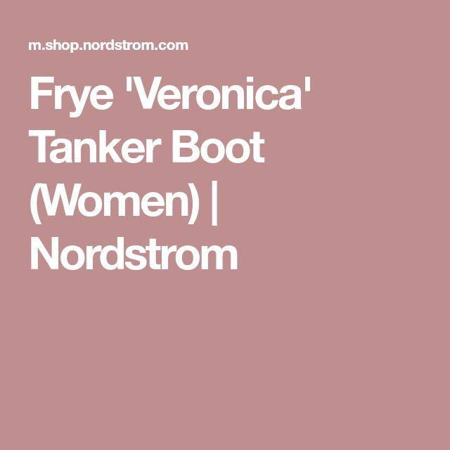 Frye 'Veronica' Tanker Boot (Women)   Nordstrom