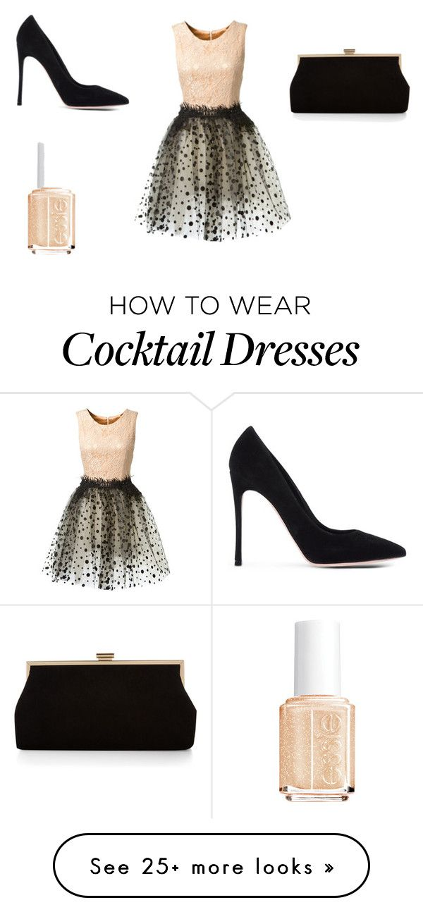 """wedding outfit #1"" by aliya-xx on Polyvore featuring Loyd/Ford, Gianvito Rossi, Monsoon, Essie, women's clothing, women's fashion, women, female, woman and misses"