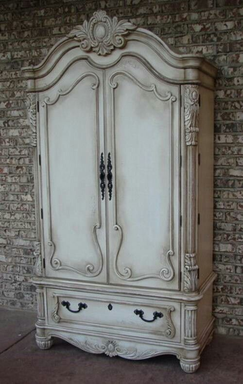 LuxTouch Vintage Furniture & Decor ~ With Louise May Heath... Chalk paint transformation...