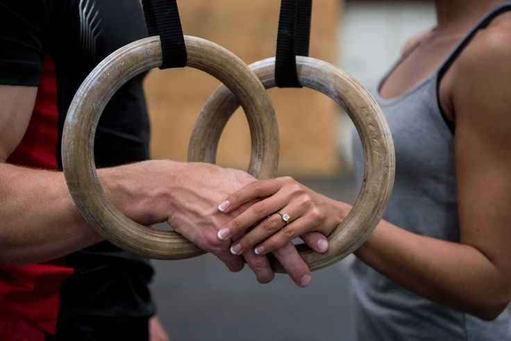 These CrossFit Engagement Photos Are like Nothing You've Ever Seen via Brit + Co.